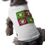 Affe-Pop-Kunst Hunde Shirt