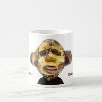 Affe-Porträt Tasse