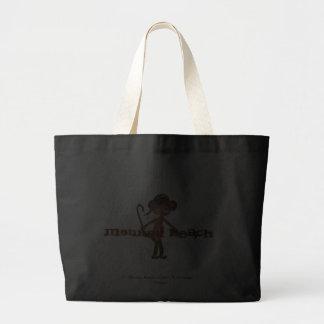 Affe-Strand est ® 2011 Do'minic entwirft Handtasch Leinentasche