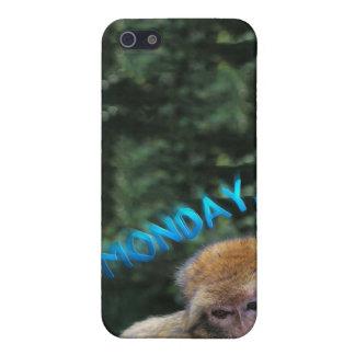 Affe traurig über Montag Hülle Fürs iPhone 5