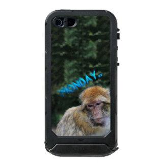 Affe traurig über Montag Incipio ATLAS ID™ iPhone 5 Hülle