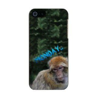 Affe traurig über Montag Incipio Feather® Shine iPhone 5 Hülle