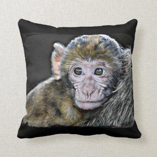 Affe und Dschungel-Tier-Wurfs-Kissen Kissen