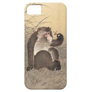 Affe und Schmetterling iPhone 5 Schutzhülle