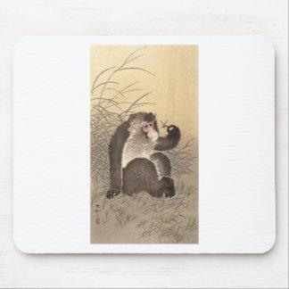 Affe und Schmetterling Mauspads