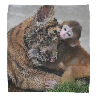 Affe und Tiger CUB/Bandana Halstuch