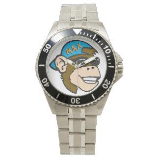 Affe-Wäsche-Uhr Uhr