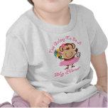 Affe-zukünftige große Schwester T Shirts