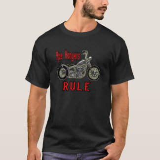 Affen-Aufhänger-Regel T-Shirt