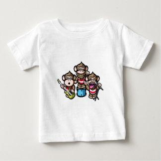 Affen-Felsen Baby T-shirt