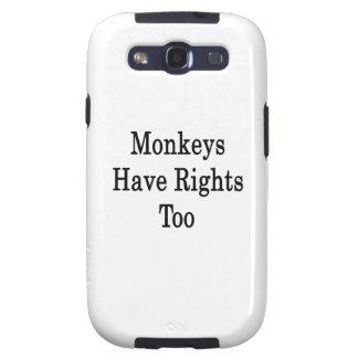 Affen haben Rechte Auch Samsung Galaxy S3 Etui