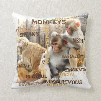 Affen Kissen
