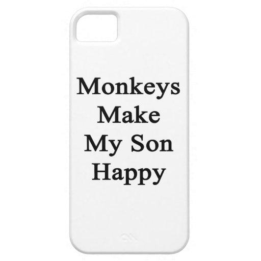 Affen machen meinen Sohn glücklich Schutzhülle Fürs iPhone 5