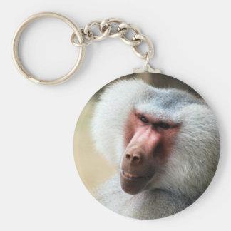 Affen-Sprichwort grüß dich Schlüsselanhänger