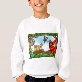 Affen Sweatshirt