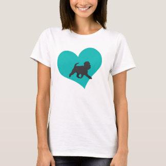 Affenpinscher-Liebe T-Shirt