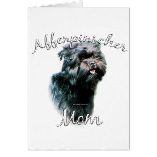 Affenpinscher-Mamma 2 Karte