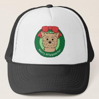 Affenpinscher-Weihnachten Truckerkappe
