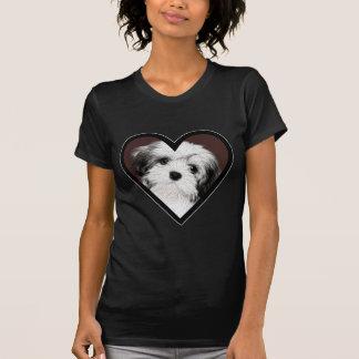 Affenpinscher-Welpen-Herz 001 T-Shirt