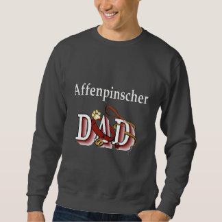 Affenpinshcer Vati Aparrel Geschenke Sweatshirt