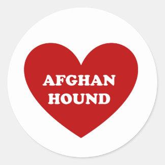 Afghane Runder Aufkleber
