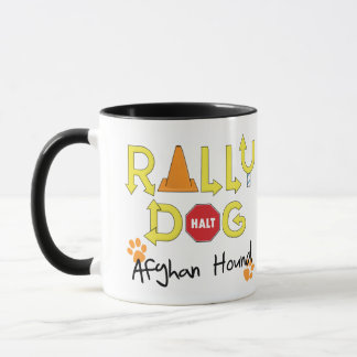 Afghanen-Kundgebungs-Hund Tasse