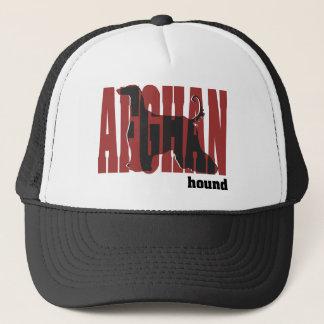 Afghanen-Silhouette Truckerkappe