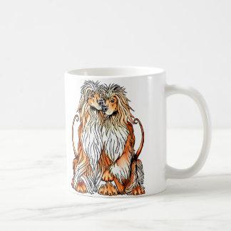 Afghanen-Welpen-Liebe Kaffeetasse
