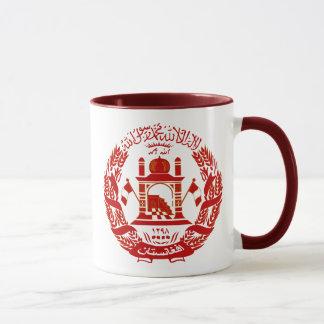 Afghanistan-Emblem Tasse