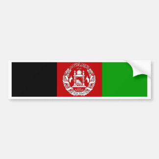 Afghanistan-Flagge Autoaufkleber