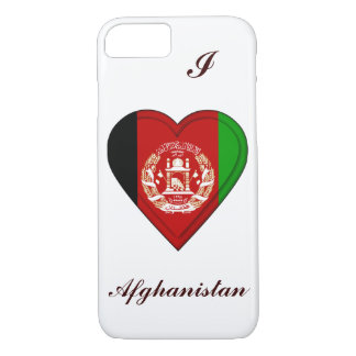Afghanistan-Flagge iPhone 8/7 Hülle