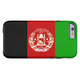 Afghanistan-Flagge Tough iPhone 6 Hülle