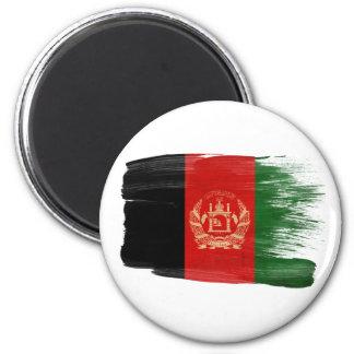 Afghanistan-Flaggen-Magneten Runder Magnet 5,1 Cm