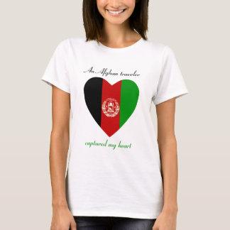 Afghanistan-Flaggen-Schatz-T - Shirt