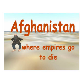 Afghanistan Postkarte