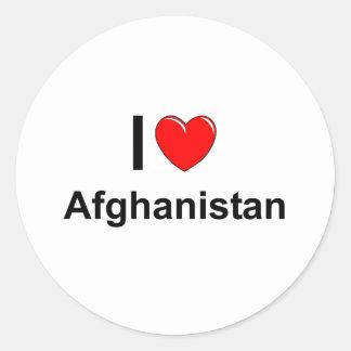 Afghanistan Runder Aufkleber