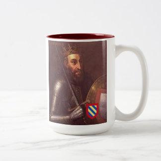 Afonso Henriques Kaffee-Tasse Zweifarbige Tasse