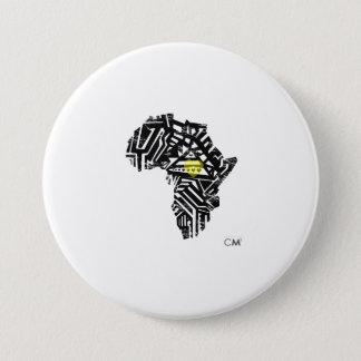 Afri-Logo CM3 Liebe-TagesButton Runder Button 7,6 Cm