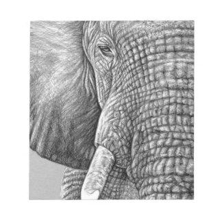 African Elephant Memo Blöcke