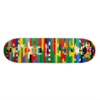 African Flags Skateboard