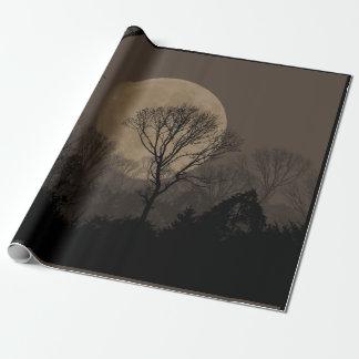 african moon geschenkpapier