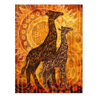 African Summer Postkarte
