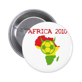 Afrika 2010 runder button 5,1 cm