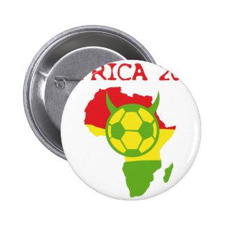 Afrika 2010 runder button 5,7 cm