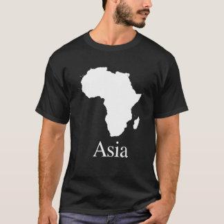 Afrika Asien (für dunklere FarbShirts) T-Shirt