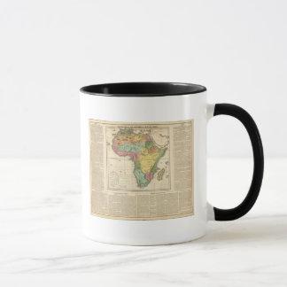 Afrika-Atlas-Karte 2 Tasse