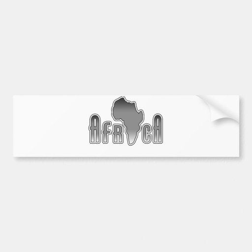 Afrika Auto Sticker