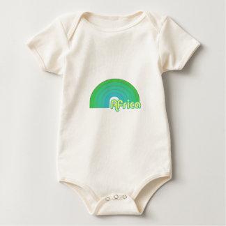 Afrika Baby Strampler