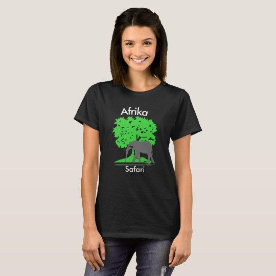 Afrika -Elefant-Safari T-Shirt