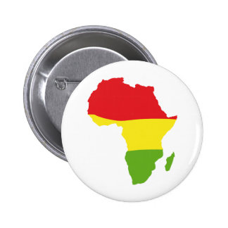 Afrika-Formflagge Anstecknadelbutton
